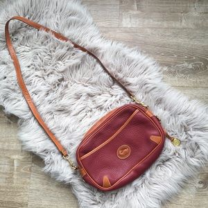Dooney & Bourke Reddish Brown Leather Purse